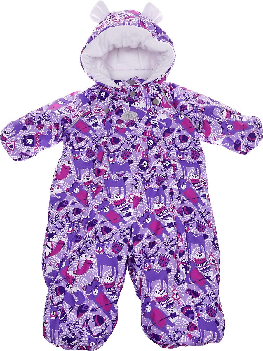 Комбинезон для девочек Reike, цвет: фиолетовый. 3941110_IFC purple. Размер 623941110_IFC purple