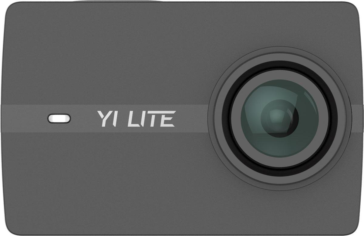 Xiaoyi Yi Lite, Black экшн-камера + водонепроницаемый бокс97002Mаленькая, мощная, легкая 4K экшен-камера с электронной стабилизацией изображения. YI Lite обладает 2-х дюймовым сенсорным экраном Gorilla Glass с удобным интерфейсом. Встроенный двухдиапазонный Wi-Fi позволяет загружать данные со скоростью 50 Мбит/с и работать на расстоянии 100м. Bluetooth 4.1 позволяет управлять гаджетом на расстоянии с помощью функции Bluetooth Remote (10 метров). Новейший чипсет Hisilicon Hi3556: его сложная структура, объединенная с мощной конфигурацией, позволяет YI Lite эффективно записывать HD-видео без перегрева устройства! Как выбрать экшн-камеру. Статья OZON Гид