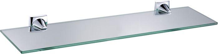 Полка для ванной комнаты Grampus Ocean, цвет: хром2003Полка стеклянная