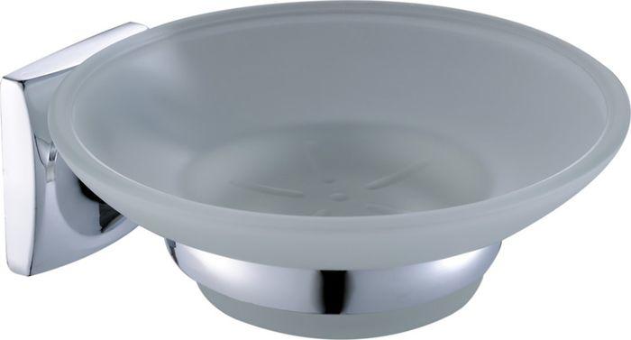 Мыльница Grampus Ocean, цвет: хром2008Мыльница Grampus Ocean, выполненная из нержавеющей стали и стекла, является не только функциональным элементом, но и прекрасно украсит интерьер любой ванной комнаты.