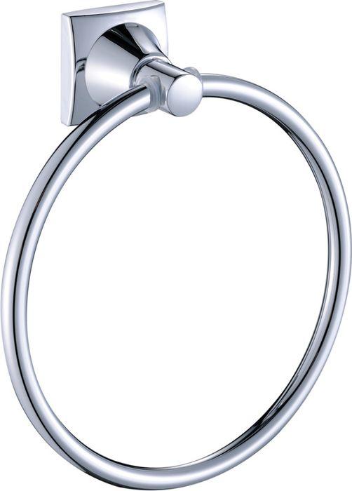 Полотенцедержатель-кольцо Grampus Ocean, цвет: хром2011Полотенцедержатель-кольцо идеально впишется в интерьер вашего дома. Изделие выполнено из металлического сплава и хрома.