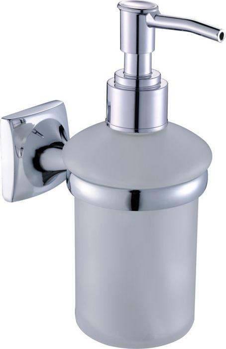 Дозатор жидкого мыла Grampus Ocean, цвет: хром дозатор жидкого мыла grampus briz gr 3012