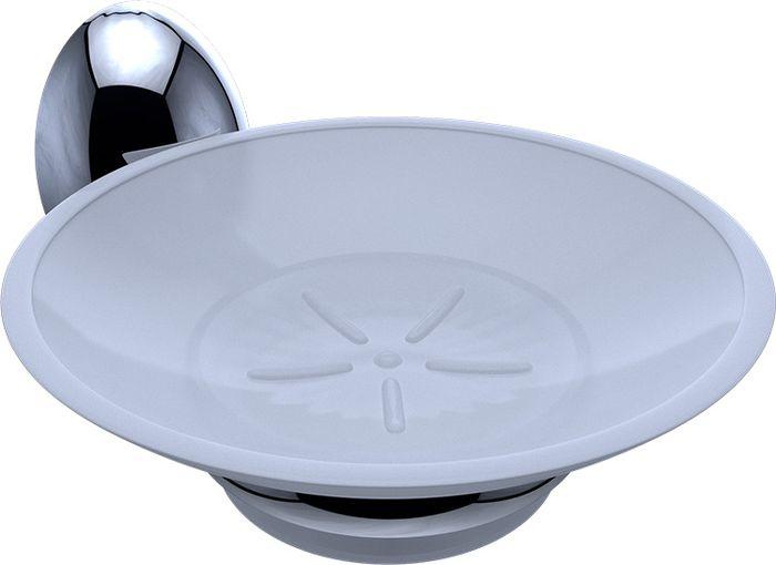 Мыльница Grampus Briz, цвет: хром3008Мыльница Grampus Briz, выполненная из нержавеющей стали и силумина, является не только функциональным элементом, но и прекрасно украсит интерьер любой ванной комнаты.