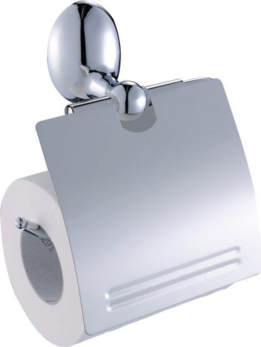 Бумагодержатель Grampus Briz, цвет: хром3010Настенный бумагодержатель Fixsen Briz имеет модульную конструкцию с откидной крышкой, которая защищает туалетную бумагу от намокания. Изделие выполнено из нержавеющей стали. Оно не ржавеет и не подвергается коррозийному разрушению.Такой аксессуар надежен и удобен в использовании, он прекрасно удерживает бумагу и позволяет легко производить замену рулона.