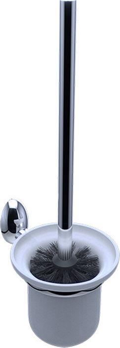 Ершик для туалета Grampus Briz, цвет: хром3013Ерш для туалета Grampus Briz выполнен в изысканном классическом стиле. Изделие не только станет декоративным элементом, но и позаботится о чистоте и гигиене помещения