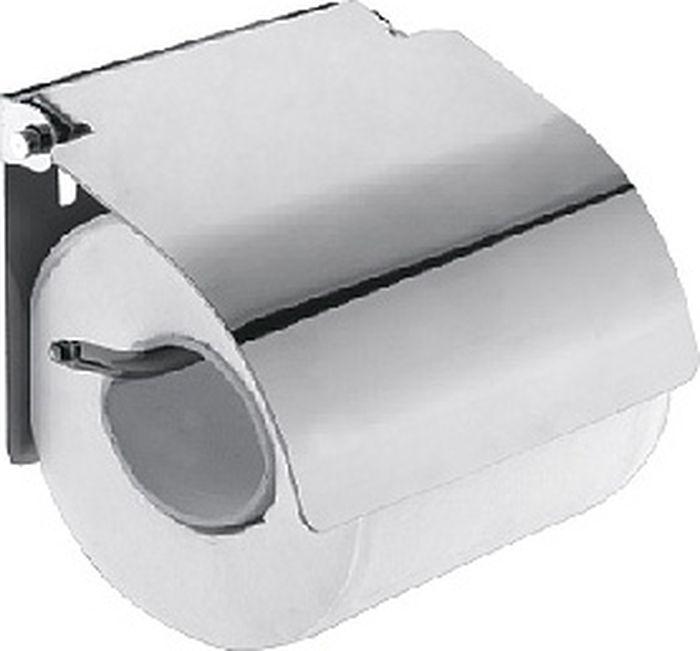 Бумагодержатель Fixsen Hotel, с крышкой, цвет: хром31010Настенный бумагодержатель Fixsen Hotel имеет модульную конструкцию с откидной крышкой, которая защищает туалетную бумагу от намокания. Изделие выполнено из нержавеющей стали. Оно не ржавеет и не подвергается коррозийному разрушению.Такой аксессуар надежен и удобен в использовании, он прекрасно удерживает бумагу и позволяет легко производить замену рулона.