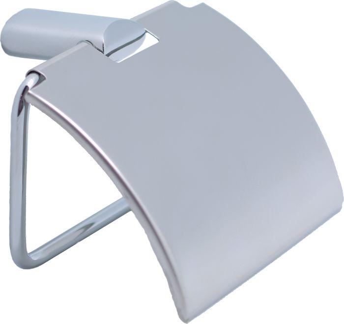 Бумагодержатель Sofita Forsa, цвет: хром37010Настенный бумагодержатель Fixsen Forsa имеет модульную конструкцию с откидной крышкой, которая защищает туалетную бумагу от намокания. Изделие выполнено из нержавеющей стали. Оно не ржавеет и не подвергается коррозийному разрушению.Такой аксессуар надежен и удобен в использовании, он прекрасно удерживает бумагу и позволяет легко производить замену рулона.