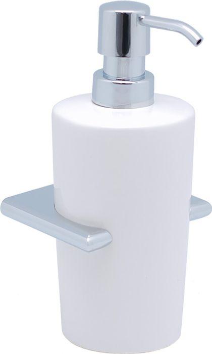 Дозатор жидкого мыла Sofita Forsa, цвет: хром37012Дозатор жидкого мыла