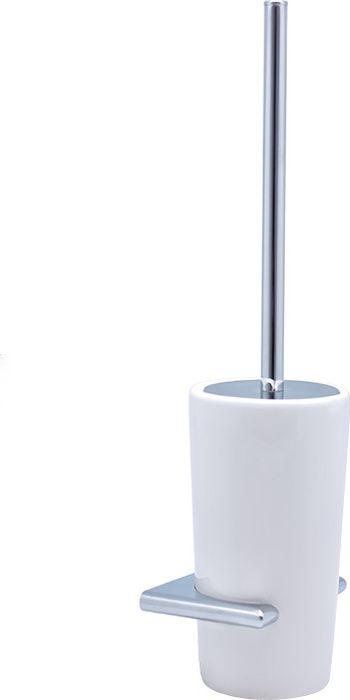 Ершик для туалета Sofita Forsa, цвет: хром37013Ерш для туалета