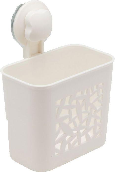 Подстаканник для ванной Grampus, одинарный, цвет: белый. GR-70837083Подстаканник одинарный Fixsen Grampus изготовлен из пластика. Он является не только функциональным элементом, но и прекрасно украсит интерьер любой ванной комнаты. Подстаканник крепится на стену с помощью липучки.