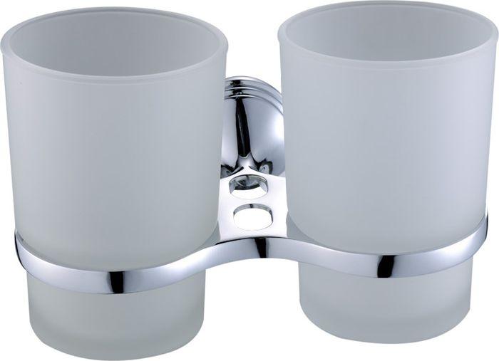 Подстаканник для ванной Grampus Laguna, двойной, цвет: хром7807Подстаканник двойной