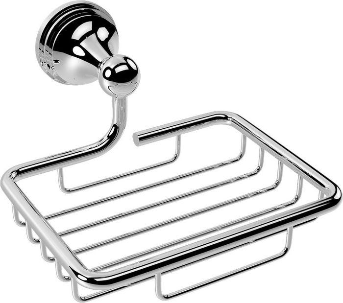 Мыльница-решетка Grampus Laguna, цвет: хром7809Мыльница-решетка Grampus Laguna, выполненная из нержавеющей стали, является не только функциональным элементом, но и прекрасно украсит интерьер любой ванной комнаты.
