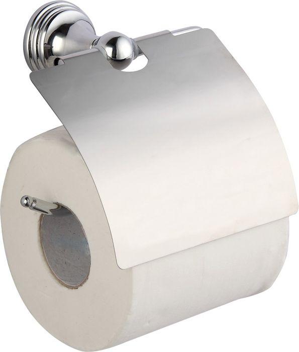 Бумагодержатель Grampus Laguna, цвет: хром7810Настенный бумагодержатель Fixsen Laguna имеет модульную конструкцию с откидной крышкой, которая защищает туалетную бумагу от намокания. Изделие выполнено из нержавеющей стали. Оно не ржавеет и не подвергается коррозийному разрушению.Такой аксессуар надежен и удобен в использовании, он прекрасно удерживает бумагу и позволяет легко производить замену рулона.