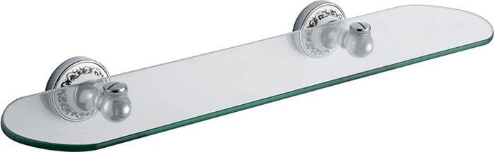 Полка для ванной комнаты Fixsen Bogema, цвет: хром78503Навесная полка Fixsen Bogema сэкономит место в вашей ванной комнате. Она пригодится для хранения различных принадлежностей, которые всегда будут под рукой. Благодаря компактным размерам полка впишется в интерьер ванной комнаты и позволит удобно и практично хранить предметы личной гигиены.
