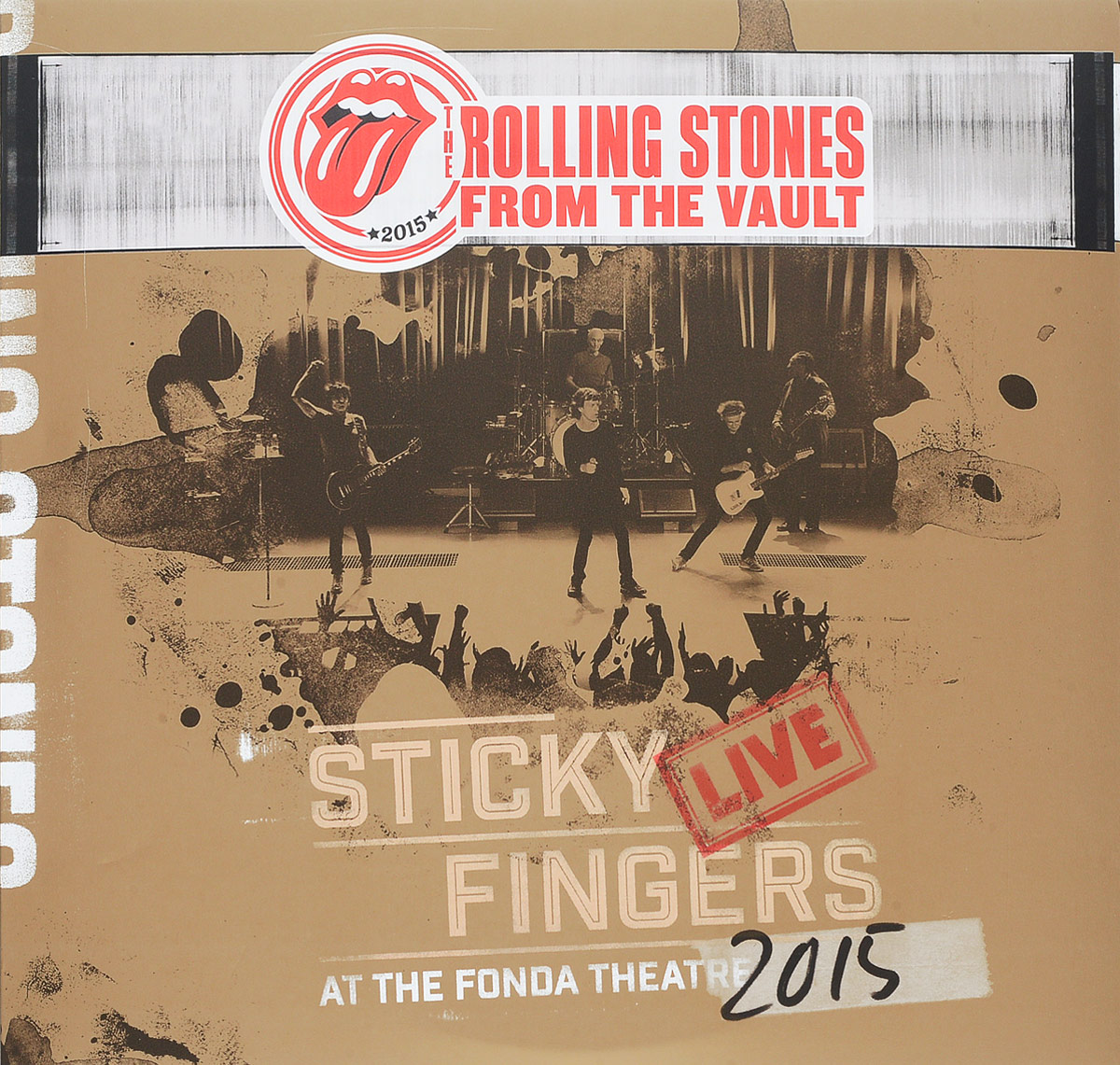 The Rolling Stones The Rolling Stones. Sticky Fingers - Live At The Fonda Theatre 2015 (2 LP + DVD) eric clapton eric clapton slowhand at 70 live at the royal albert hall 3 lp dvd