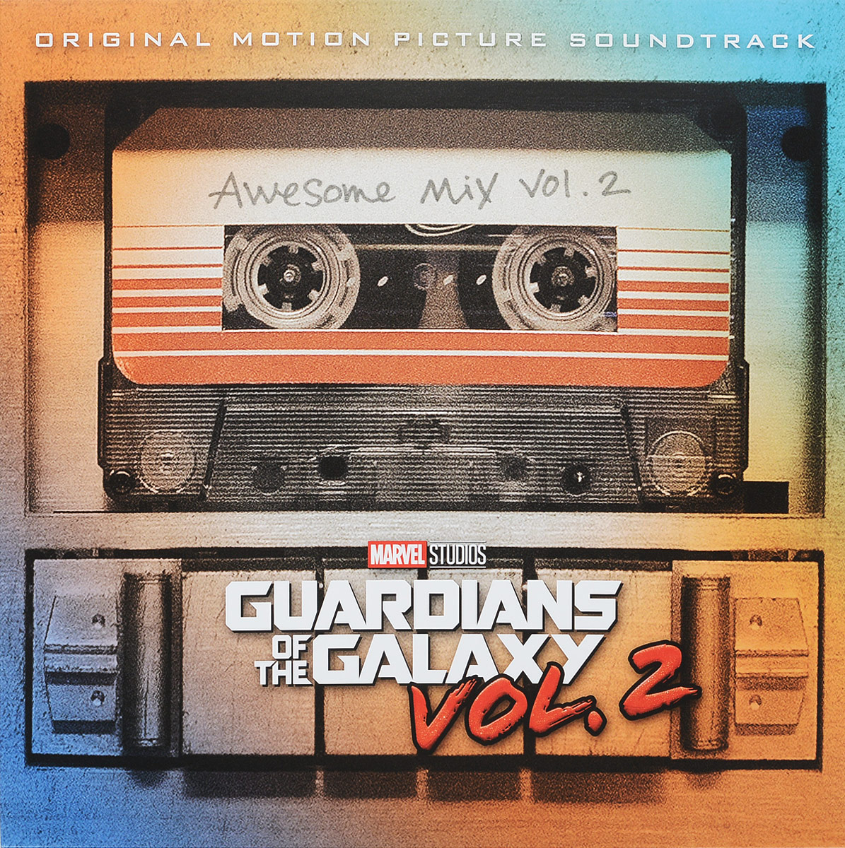 Guardians Of The Galaxy Vol. 2: Awesome Mix Vol. 2 (LP) майка классическая printio guardians of the galaxy vol 2