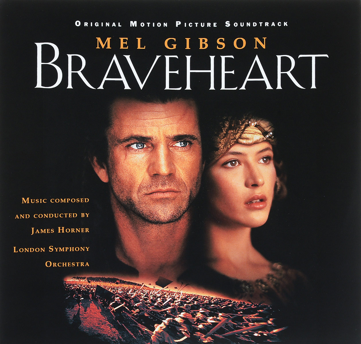 James Horner, London Symphony Orchestra. Braveheart (Original Motion Picture Soundtrack) (2 LP)