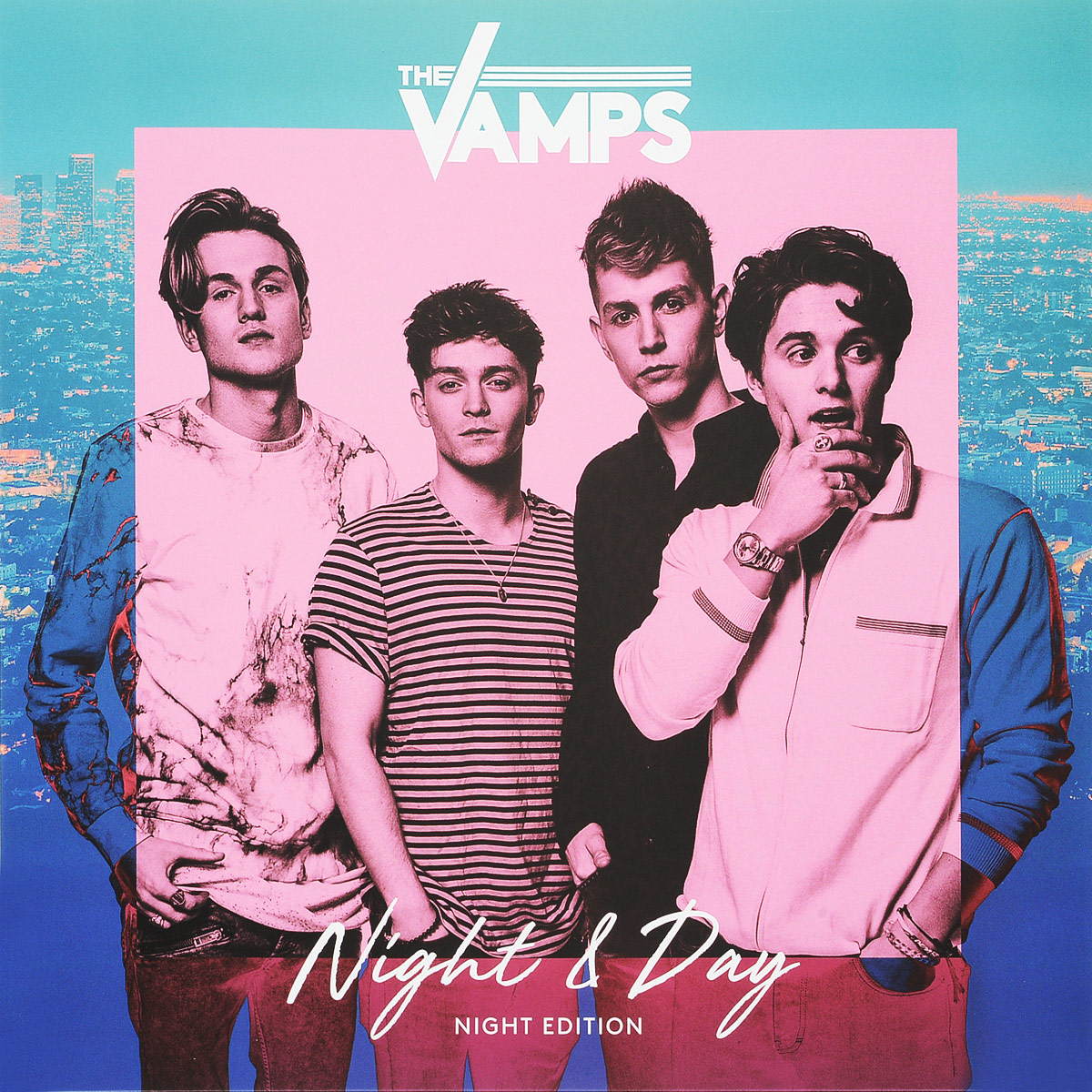 The Vamps The Vamps. Night & Day (Night Edition) (LP) the vamps leeds