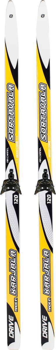 Лыжи беговые Karjala Sortavala Step, с креплением 75 мм, цвет: желтый, рост 110 см43067(130)Лыжный комплект: беговые лыжи Karjala Sortavala + крепления Karjala 75мм. Беговые лыжи Karjala Sortavala предназначены для классического хода (свободный стиль).Лыжи Sortavala step:- Технология CAP, позволяет увеличить прочность лыжи их долговечность и надёжность. Обеспечивает большую жёсткость на скручивание и облегчённый вес.- Синтетический сердечник PU (пена)- Скользящая поверхность - экструдированый полиэтилен низкого давления ПЭНД, обладающий высокой степенью защиты от царапин и вмятин.Крепления Karjala 75 мм- Крепления изготовлены из морозоустойчивого пластика и стали - Автоматическое пристегивание- Заменяемый флексор жесткости- Две направляющиеKarjala (Карелия) – самая известная российская марка беговых лыж и аксессуаров, которая уже более полувека производит спортивный инвентарь. Характеристики: Рост: 110 смГеометрия: PARALLEL 46Материал: пластик, деревоЦвет: красныйКрепления: Karjala 75 ммРазмер упаковки: 110х10х5