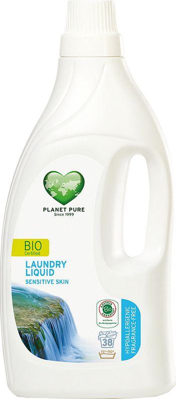 Средство для стирки Planet Pure, гипоаллергенное, 1,55 л9120001460410BIO Средство для стирки гипоаллергенное Planet Pure БЕЗ ОТДУШЕК подарено нам самой природой. Мощные растительные экстракты-сапонины на основе мыльного ореха очищают ткани эффективно и мягко. Они не содержат вредных химических веществ и, таким образом, сохраняют ваше здоровье и окружающую среду. Для чувствительной кожи. Особенности: Растительное происхождение; Проверено дерматологами; Без синтетических отдушек; Без энзимов; Без парабенов; Без ГМО; Без нефтепродуктов; Без отбеливающих реагентов; Без тестов на животных.