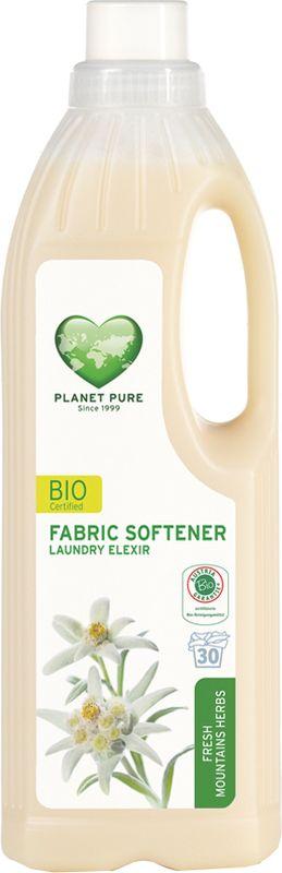 Кондиционер для белья Planet Pure Горные травы, 1 л9120001468966BIO Кондиционер для белья Planet Pure ГОРНЫЕ ТРАВЫ изготавливается на чисто растительной основе без растворителей, химических ПАВ и пальмового масла. Придает тканям мягкость и свежесть. Поскольку продукт состоит из чистых растений и их экстрактов, таких как сапонария, рапс, эдельвейс, календула, альпийские травы и розмарин, он бережно относится к вашей коже и сохраняет нашу окружающую среду. Ваше бельё получается более мягким и гладким после сушки, со свежим ароматом альпийских трав.Особенности:Растительная основа; Забота в вашей коже; Драгоценные экстракты трав; Без нефтепродуктов и пальмового масла; Без ГМО; Без тестов на животных.