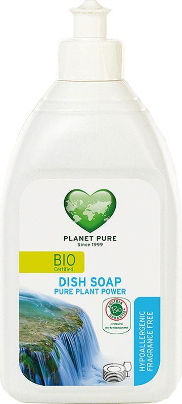 Средство для мытья посуды Planet Pure, гипоаллергенное, 0,51 л