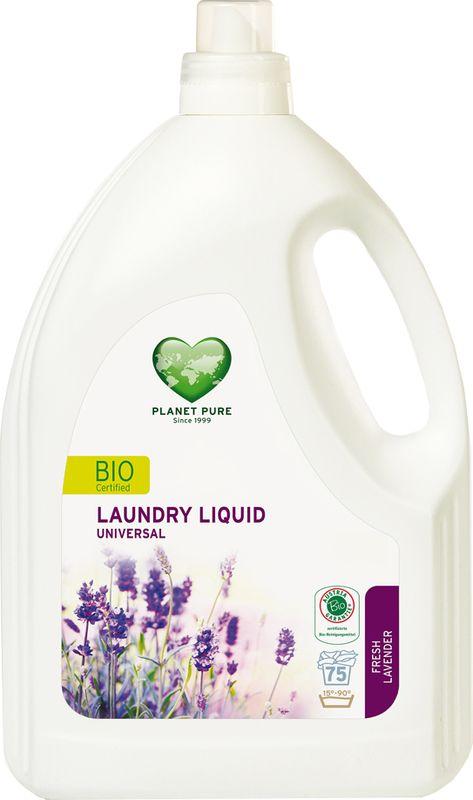 Средство для стирки Planet Pure Лаванда, 3 л9120001469833BIO Средство для стирки универсальное Planet Pure СВЕЖЕСТЬ ЛАВАНДЫ подарено нам самой природой. Мощные растительные экстракты-сапонины на основе мыльного ореха очищают текстиль эффективно и мягко. Они не содержат вредных химических веществ и, таким образом, сохраняют ваше здоровье и окружающую среду. Особенности: Растительное происхождение; Проверено дерматологами; Без синтетических отдушек; Без энзимов; Без парабенов; Без ГМО; Без нефтепродуктов; Без отбеливающих реагентов; Без тестов на животных