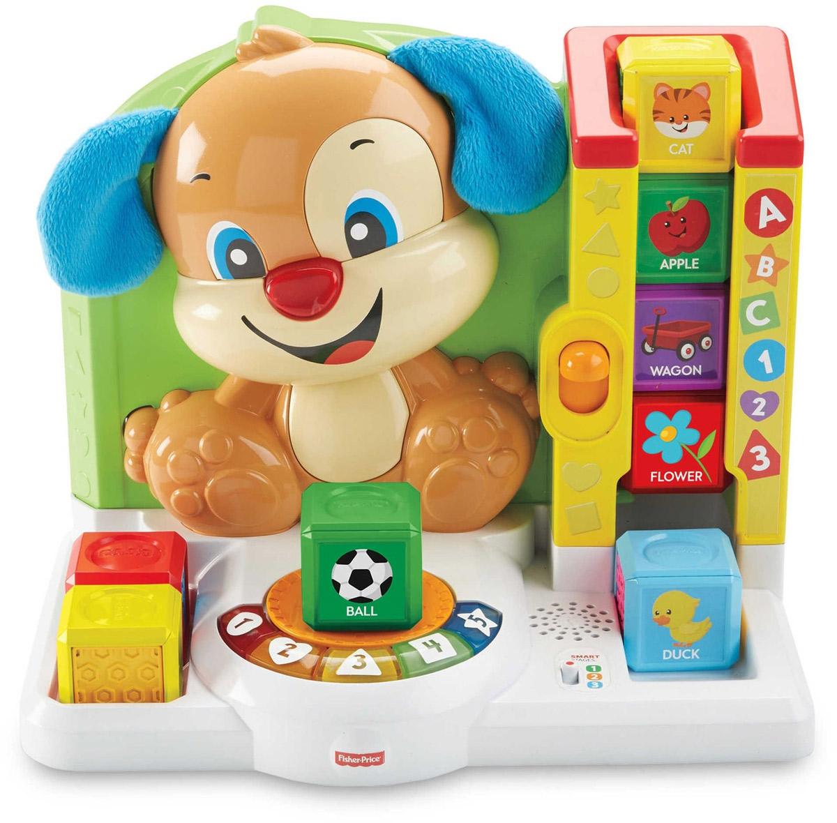 Fisher-Price Развивающая игрушка Игровая станция Ученого Щенка Первые слова по какой цене щенка