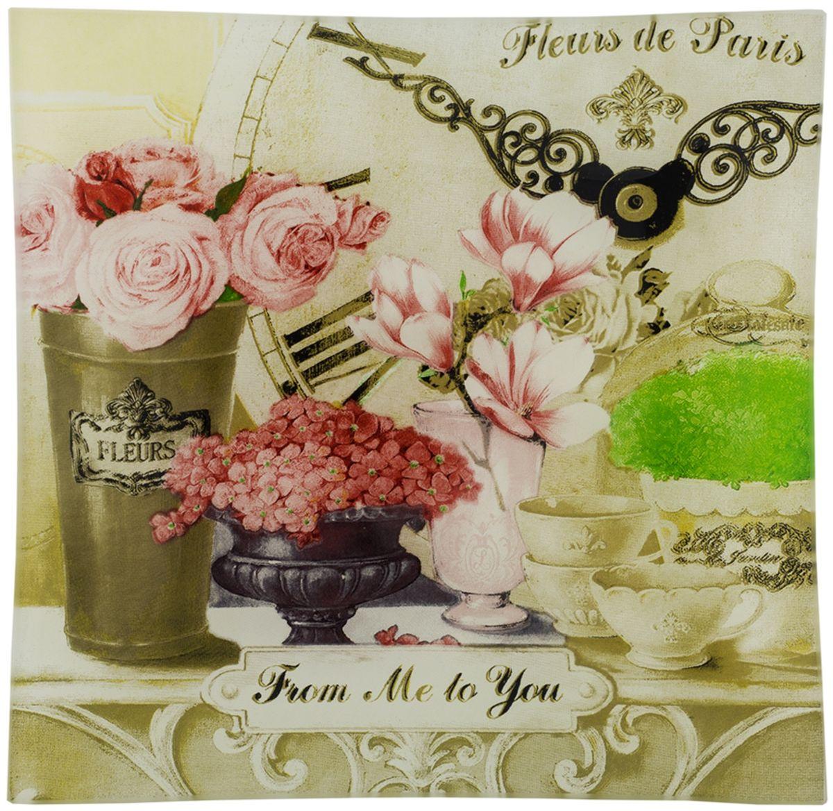 Пепельница GiftnHome Парижские цветы, диаметр 12 смAT-12 FleursДанный аксессуар, может служить, как блюдце для десертов и закусок, так и в качестве стильнойпепельницы. Изделие изготовлено из термостойкого закаленного стекла. Изделие имеетпозолоту в декоре, что исключает использование в микроволновой печи.