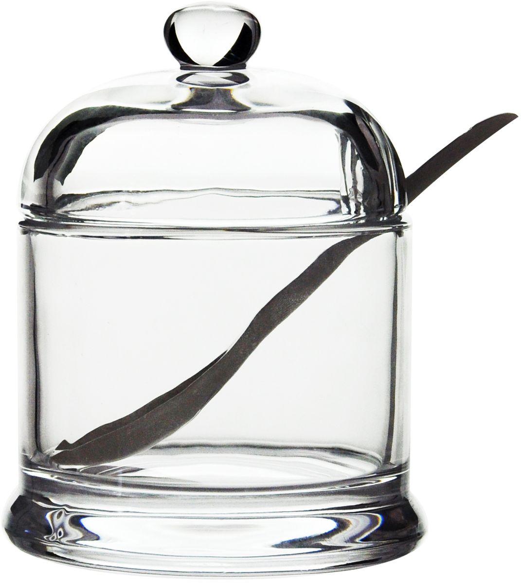 Сахарница GiftnHome, с ложкой, 260 мл. SUG-260glSUG-260glСахарница с крышкой и ложкой изготовлена из высококачественных материалов. Сахарница универсальна, подойдет как для меда, так и для специй. В крышке предусмотрено отверстие для ложки. Можно мыть в посудомоечной машине.