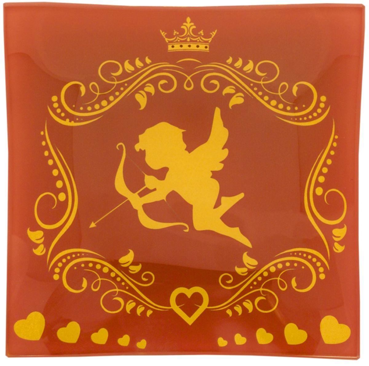 Пепельница GiftnHome Святой Валентин, цвет: розовый, диаметр 12 смAT-12 St Valentine (p)Данный аксессуар, может служить, как блюдце для десертов и закусок, так и в качестве стильной пепельницы. Изделие изготовлено из термостойкого закаленного стекла. Изделие имеет позолоту в декоре, что исключает использование в микроволновой печи.