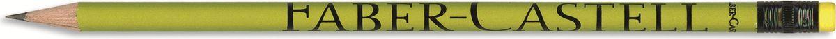 Faber-Castell Карандаш чернографитный Style с ластиком цвет желтый карандаш фонарик с ластиком