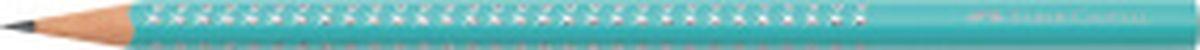 Faber-Castell Карандаш цветной Sparkle Summer цвет бирюзовый118358Трехгранный карандаш Sparkle, • мировой бестселлер от Faber-Castell • уникальный дизайн с эффектом жемчужин • эргономичная трехгранная область захвата с массажной поверхностью GRIP • твердость грифеля B для удобного письма • 3 тематических группы цветов • весна: пастельные цвета • лето: неоновые цвета • осень: металлические цвета, цвет бирюзовый