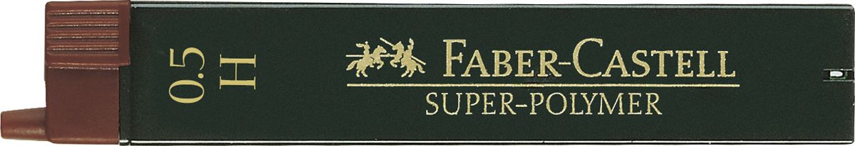 Faber-Castell Грифель для карандаша Superpolymer H 0,5 мм 12 шт cordiant sport w1 185 65 r15 88h