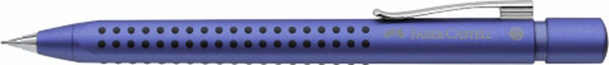 Faber-Castell Карандаш механический Grip 2011 0,7 мм цвет корпуса синий131253Механический карандаш Faber-Castell станет незаменимым инструментом для начинающих ипрофессиональных художников, а также подойдет для повседневных записей.Особенности:- запатентованная антискользящая зона захвата Grip с малыми массажными шашечками; - эргономичная трехгранная форма; - упругий клип, наконечник и выдвижной колпачок наконечника из металла; - система, предотвращающая поломку грифеля; - оптимальная толщина грифеля 0,7 мм; - качественный, длинный, выдвижной ластик, защищенный колпачком; - система автоматической подачи грифеля.