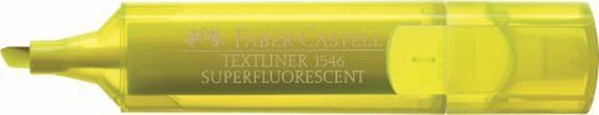 Faber-Castell Текстовыделитель 1546 флуоресцентный цвет желтый154607Флуоресцентный текстовыделитель Faber-Castell станет незаменимым предметом как на столе школьника, так и студента.Изделие имеетпривлекательный полупрозрачный дизайн. Он идеален для всех видов бумаги. Чернила на водной основе.Линия маркировки шириной 5, 2 или1 мм.
