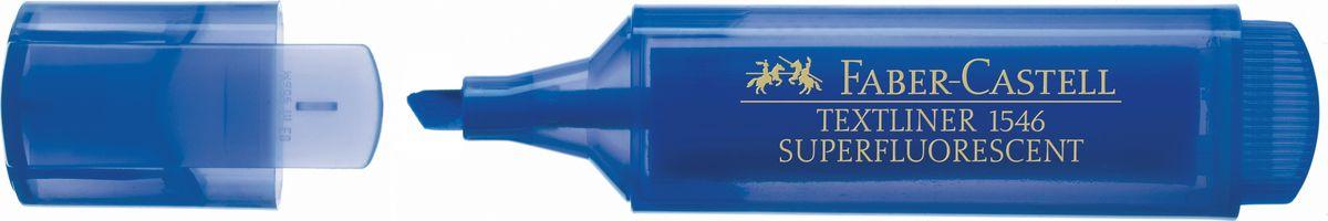 Faber-Castell Текстовыделитель 1546 флуоресцентный цвет синий154652Текстовыделитель 1546 флуоресцентный,• очень качественный суперфлуоресцентный маркер • идеальный для всех видов бумаги • универсальные чернила на водной основе • линия маркировки шириной 5, 2 или 1 мм