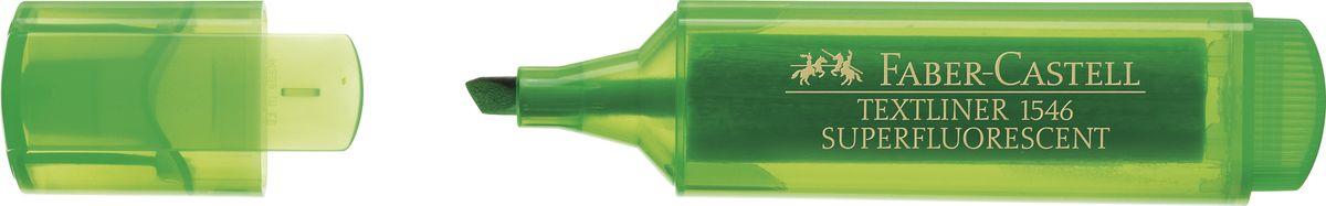 Faber-Castell Текстовыделитель 1546 флуоресцентный цвет зеленый faber castell текстовыделитель 1546
