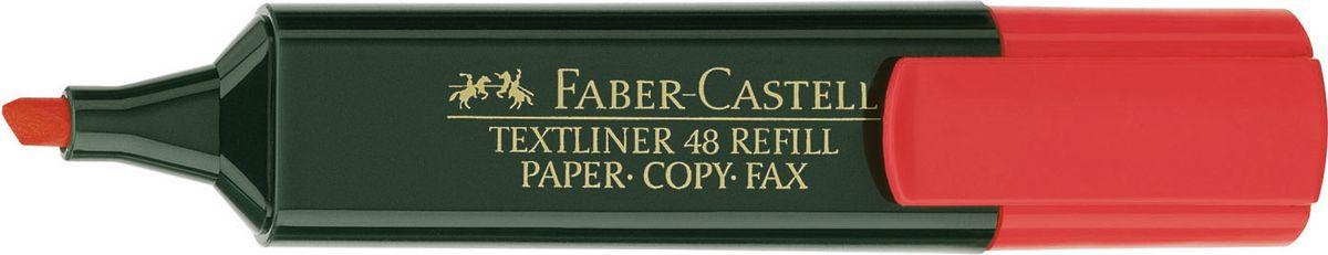 Faber-Castell Текстовыделитель 1548 цвет красный154821Текстовыделитель Faber-Castell станет незаменимым предметом как на столе школьника, так и студента.Имеет возможность повторногонаполнения. Он идеален для всех видов бумаги. Чернила на водной основе.Линия маркировки шириной 5, 2 или1 мм.