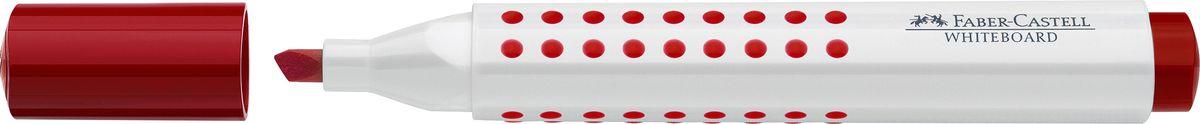 Faber-Castell Маркер для доски Grip клиновидный наконечник цвет красный158621Маркер с клиновидным наконечником Faber-Castell удобен для письма на белой маркерной доске.Быстро сохнет, не имеет сильного запаха, легко стирается с доски, не оставляя следов.Характеристики: - эргономичная трехгранная область захвата; - привлекательный полупрозрачный дизайн;- ширина линии: 2,5-5 мм; - простая система повторного наполнениячернилами.