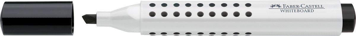 Faber-Castell Маркер для доски Grip клиновидный наконечник цвет черный158699Маркер для белой доски Grip ,эргономичная трехгранная область захвата• привлекательный полупрозрачный дизайн• линия маркировки шириной 5, 2 или 1 мм• 4 ярких цвета• простая система повторного наполнениячернилами• контрастные цвета, быстрое высыхание, безсильного запаха, светостойкие• легко стирается с доски, не оставляя следов
