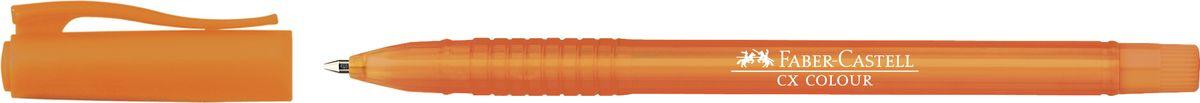 Faber-Castell Ручка роллер СX5 0,7 мм цвет чернил оранжевый247015Роллер CX5 Colour,• эргономичная область захвата• низковязкостные чернила (semi-gel)• привлекательные прозрачные цвета корпуса• вентиляционный колпачок с упругим клипом• наконечник 1.0 мм, цвет оранжевый