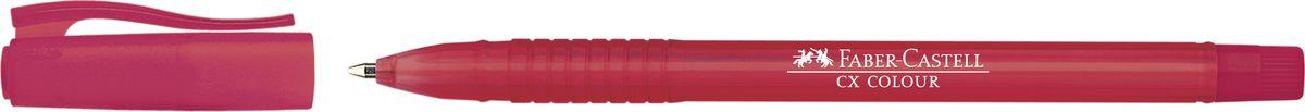 Faber-Castell Ручка роллер СX5 0,7 мм цвет чернил красный247021Роллер CX5 Colour,• эргономичная область захвата• низковязкостные чернила (semi-gel)• привлекательные прозрачные цвета корпуса• вентиляционный колпачок с упругим клипом• наконечник 1.0 мм, цвет красный