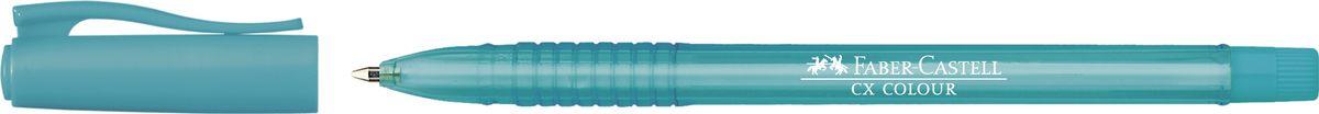 Faber-Castell Ручка-роллер СX5 0,7 мм цвет чернил бирюзовый247053Ручка-роллер Faber-Castell с наконечником 0,7 мм обеспечивает очень мягкое письмо. Привлекательный прозрачный корпус и низковязкостныечернила (semi-gel). Эргономичнаязона захвата обеспечивает комфорт во время письма. Вентиляционный колпачок оснащен упругим клипом.