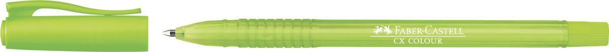 Faber-Castell Ручка-роллер СX5 0,7 мм цвет чернил салатовый247062Ручка-роллер Faber-Castell с наконечником 0,7 мм обеспечивает очень мягкое письмо. Привлекательный прозрачный корпус и низковязкостныечернила (semi-gel). Эргономичнаязона захвата обеспечивает комфорт во время письма. Вентиляционный колпачок оснащен упругим клипом.