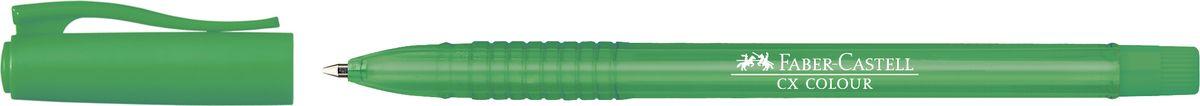Faber-Castell Ручка-роллер СX5 0,7 мм цвет чернил зеленый247063Ручка-роллер Faber-Castell с наконечником 0,7 мм обеспечивает очень мягкое письмо. Привлекательный прозрачный корпус и низковязкостныечернила (semi-gel). Эргономичнаязона захвата обеспечивает комфорт во время письма. Вентиляционный колпачок оснащен упругим клипом.