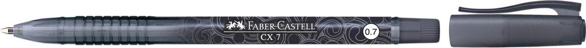 Faber-Castell Ручка-роллер СX7 0,7 мм цвет чернил черный256899Ручка-роллер Faber-Castell с наконечником 0,7 мм обеспечивает очень мягкое письмо. Пригодна для письма на документах. Эргономичнаязона захвата обеспечивает комфорт во время письма. Вентиляционный колпачок оснащен упругим клипом.