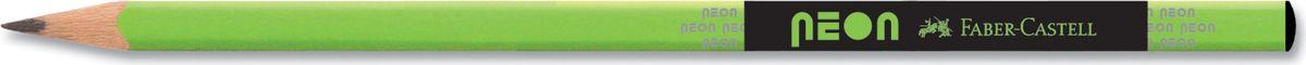 Faber-Castell Карандаш чернографитный Neon цвет зеленый316200Faber-Castell - чернографитный карандаш эргономичной трехгранной формы хорошего качества. Грифель идеален для рисования итренировки письма. Карандаш оснащен ластиком. Специальнаятехнология вклеивания (SV) предотвращает поломку грифеля.Качественная древесина - гарантия легкого затачивания при помощистандартных точилок.