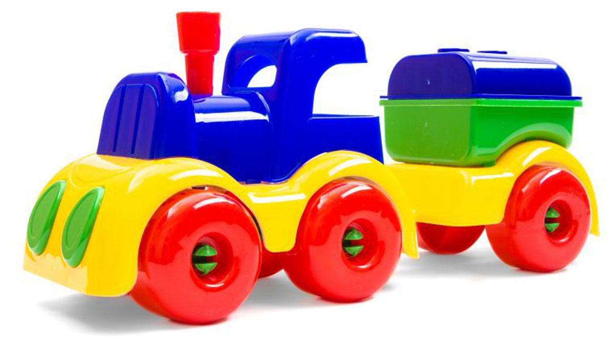 Пластмастер Паровозик МалышОК с цистерной eichhorn вагон с цистерной