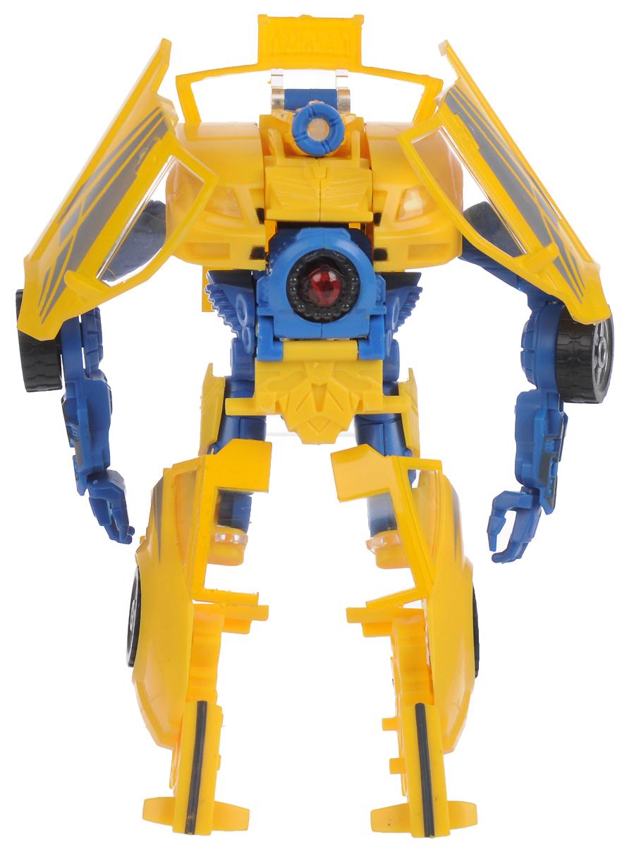 Склад уникальных товаров Робот-трансформер Спорткар L цвет желтый синий